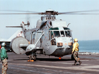 Westland Sea King AEW.2A. Фото с сайта defenseimagery.mil